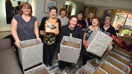 Ipswich Christians Against Poverty is preparing Christmas hampers to give out over the festive perio