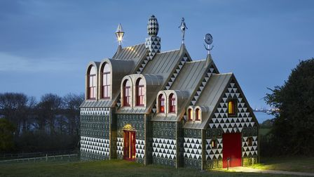 The 'Taj Mahal upon the Stour'. Grayson Perry's house in Wrabness Photo: Jack Hobhouse, Courtesy Liv