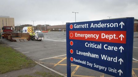 The hospital wants to remind the public that the A&E department is their to deal with life-threateni