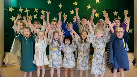 The Culford School pre-prep and nursery nativity wowed audiences. Picture; CULFORD SCHOOL
