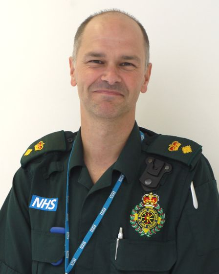 Matt Broad, interim deputy director of strategy and transformation at EEAST. Picture: CONTRIBUTED