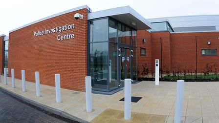 The man detained has been taken to the police investigation centre in Bury St Edmunds. Picture: ARCH