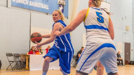 Ipswich's Harriet Welham led them to a win at Derbyshire. Picture: PAVEL KRICKA
