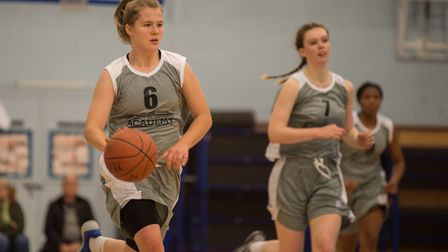 Ashleigh Pink scored 20 for Ipswich.