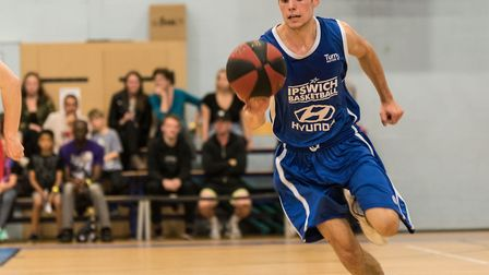 Cameron Hawes scored 20 for Ipswich at Sussex. Picture: PAVEL KRICKA