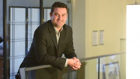 Jon Neal, chief executive of Suffolk Mind. Picture: GREGG BROWN