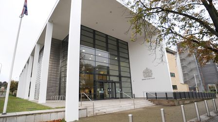 Simon Harrigan appeard at Ipswich Crown Court via video link. Picture: GREGG BROWN