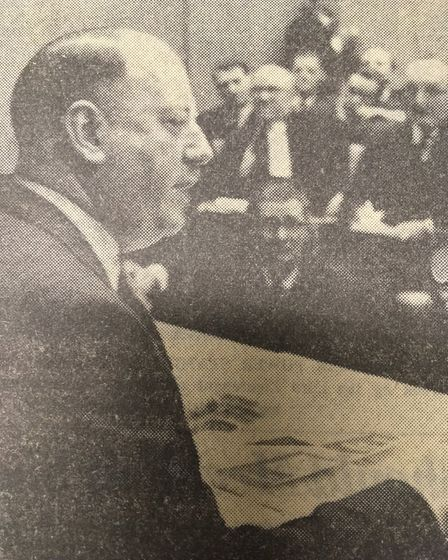 Dr Richard Beeching unveils his plan to make the railways pay their way by 1970. Picture: ARCHANT