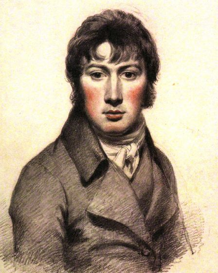 Self-portrait by John Constable, circa 1799-1804. Picture: NATIONAL PORTRAIT GALLERY