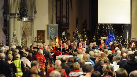 People are being invited to attend the Stowmarket town carol service. Picture: SARAH LUCY BROWN