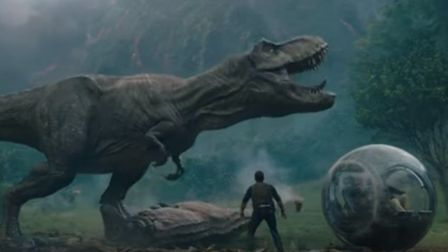 A scene from the Jurassic World: Fallen Kingdon trailer. Picture: UNIVERSAL PICTURES/YOUTUBE