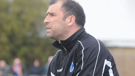 Bury Town manager Ben Chenery, hoping his side can keep a fourth clean-sheet in five league games, a