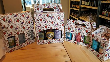 A Hopsters Christmas gift box. Picture: CONTRIBUTED