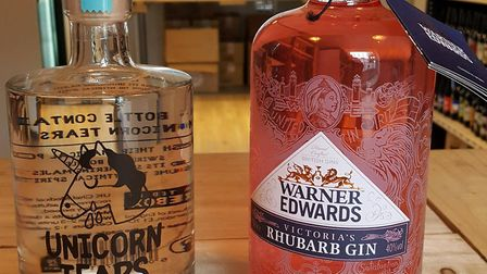 Check out these unique bottles of Hopsters gin. Picture: ARCHANT