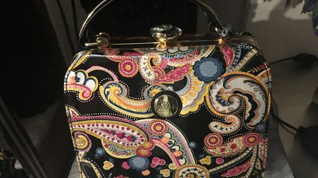 This colourful bag from Mauds Attic is a perfect Christmas present. Picture: CONTRIBUTED