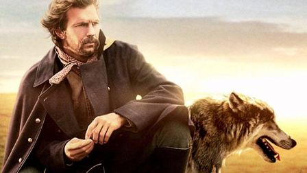 Kevin Costner as John Dunbar in the Oscar-winning film Dances With Wolves - a movie which offered a