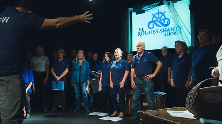 Voice cLoud, a sea shanty and coastal music choir in Lowestoft, is offering respite for local carers