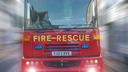 Firefighters were called to help free a dog. Picture: ARCHANT LIBRARY
