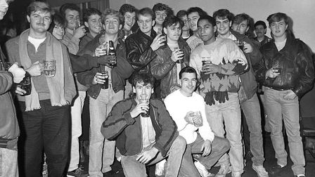 Were you one of the customers enjoying last orders at the Crown and Anchor on Christmas Eve 1986?