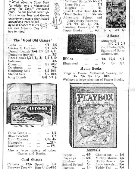 Hadleigh reader, Arthur Jacobs, sent a brochure he produced as a seventeen-year-old staff member at