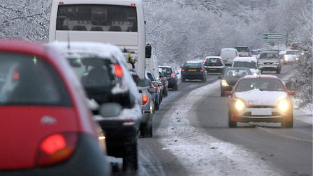 Drivers are being urged to take extra care on the roads this winter. Picture: Archant.