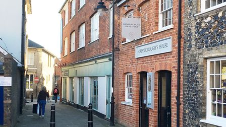 Gainsborough's House will benefit from a grant from the Andrew Lloyd Webber Foundation. Picture: EMM