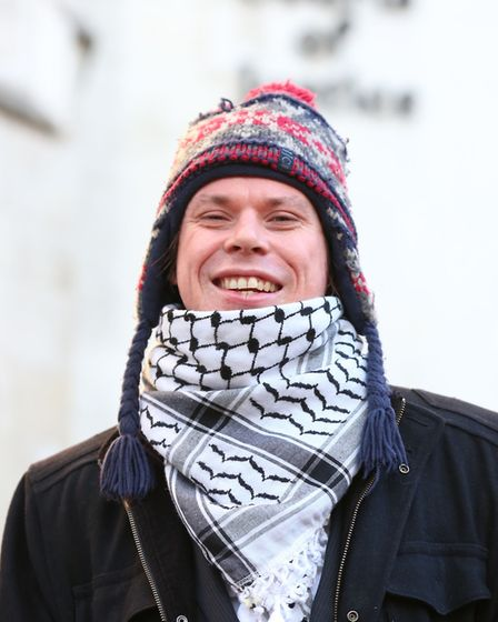 Alleged computer hacker Lauri Love arriving at the High Court in central London. Picture: ISABEL IN