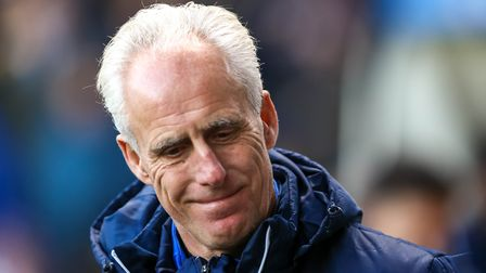 Ipswich Town manager Mick McCarthy smiles after his side's 4-2 victory over Nottingham Forest. But h