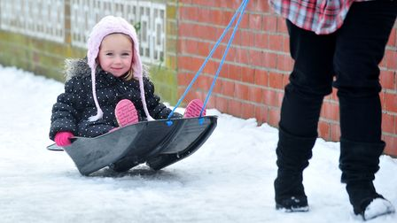 Get your sledge ready for the Demon Xtreme Ice Slider. Picture: NICK BUTCHER