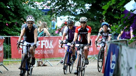 The Women on Wheels event in Bury St Edmunds last year. Picture: ANDY ABBOTT