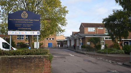 Bury St Edmunds County Upper School. Picture: GREGG BROWN