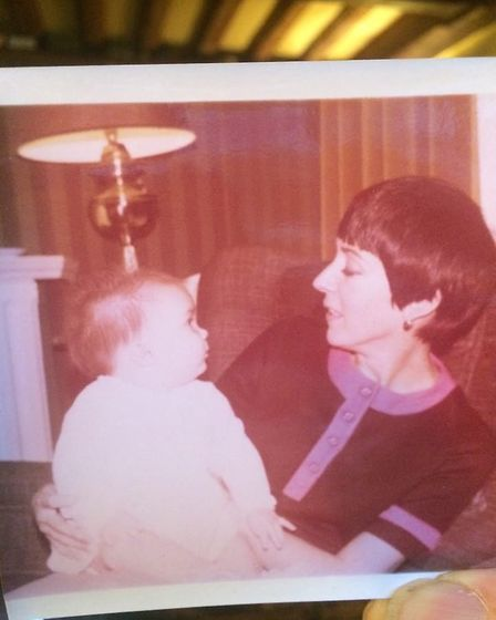 Annette with her daughter, Louise