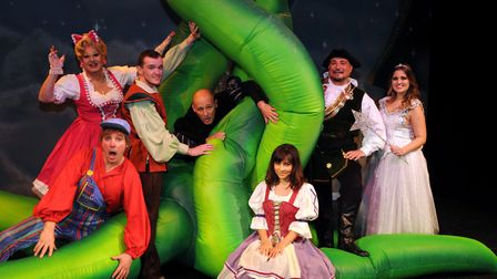 An all-star cast will tell the tale of Jack and The Beanstalk at Ipswich's Regent. Picture: CONTRIBU