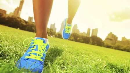 Get your running shoes ready for the fun run. Picture: GETTY IMAGES/ISTOCKPHOTO