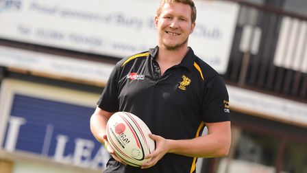 Bury St Edmunds head coach, Ollie Smith, who is hoping that his side can topple second-placed Cinder