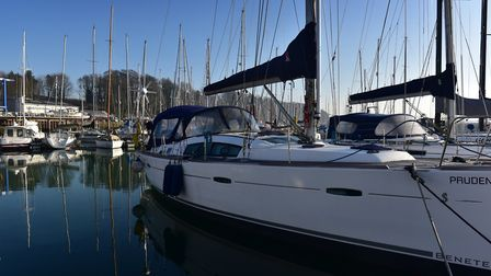 Levington Marina, home of Suffolk Yacht Station. Picture: Sarah Lucy Brown
