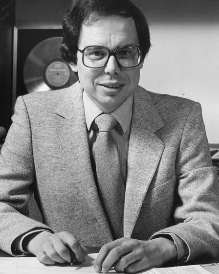 David Cocks was one of the founders of the Suffolk Radio Group. Picture: CONTRIBUTED