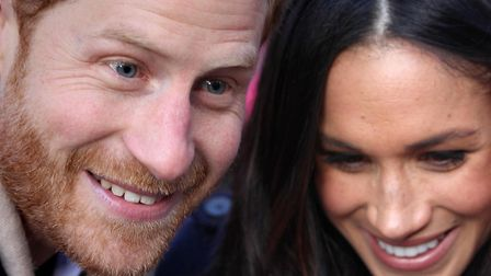 Prince Harry and Meghan Markle. Picture: HARRY STARBUCK/PA WIRE
