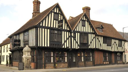 The Old Siege House in Colchester - a lasting reminder of the civil war events of 1648 that so badly