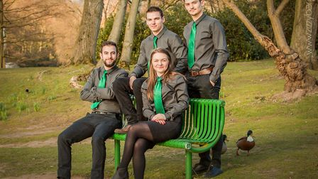 The Zizzy team, with director Vicky seated front right. Picture: Zizzybar.co.uk