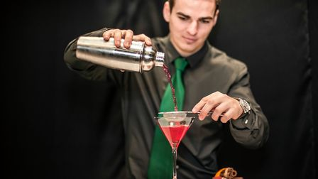 Operations director Iliya is one of the Zizzy Bar team's trained mixologists. Picture: Zizzybar.co.u