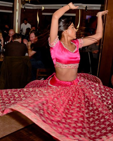 Opening night for Indian restaurant Zaynab in Capel St Mary