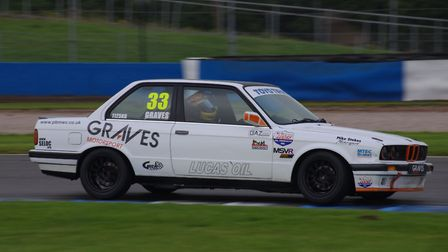 Colchester driver David Graves in action. Picture: GIRD ART