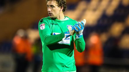 Colchester United keeper Sam Walker, who is confident that the U's can push for promotion this seaso