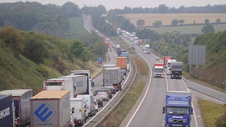 The campaign aims to improve junctions on the A14 in Suffolk. Picture: ARCHANT
