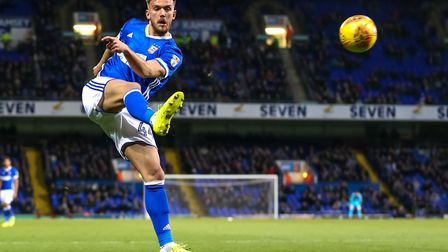 Emyr Huws has started the last three games for Ipswich Town. Photo: Steve Waller