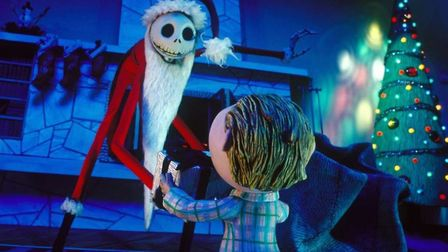 The Nightmare Before Christmas, director Tim Burton's stop-motion collaboration with animator Henry