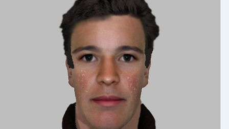 Police have released this e-fit of a man they would like to speak to following a burglary in Haverhi