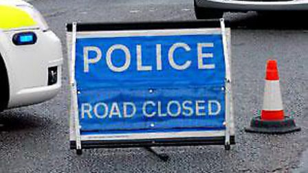 The A12 has been closed due to icy conditions. Picture: ARCHANT LIBRARY