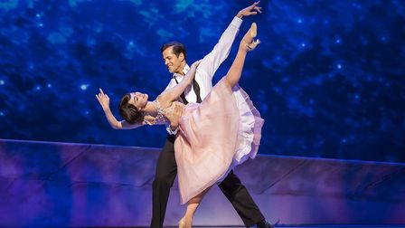 Robert Fairchild and Leanne Cope in An American in Paris which is currently enjoying a critically ac